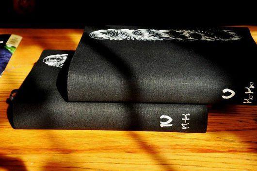 Обложки ручной работы. Ярмарка Мастеров - ручная работа. Купить Суперобложка для книги. Handmade. Авторская работа, эксклюзивная вышивка