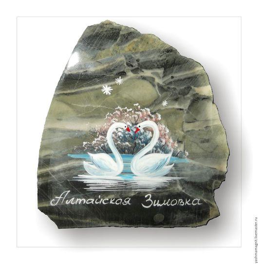 Роспись по камню ручной работы. Ярмарка Мастеров - ручная работа. Купить Оптовая цена Авторские сувениры Магнит из камня Яшма. Handmade.