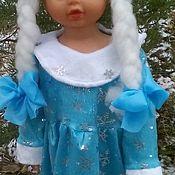 Одежда ручной работы. Ярмарка Мастеров - ручная работа костюм снегурочки для малышки. Handmade.