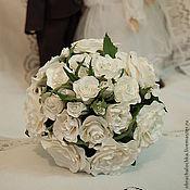 """Свадебный салон ручной работы. Ярмарка Мастеров - ручная работа """"Царевна-лебедь""""-Букет для невесты. Handmade."""