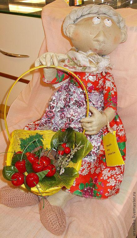 """Коллекционные куклы ручной работы. Ярмарка Мастеров - ручная работа. Купить Кукла """"МАРФА"""". Handmade. Бежевый, кукла национальная, шишки"""