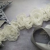 """Свадебный салон ручной работы. Ярмарка Мастеров - ручная работа Пояс """"Cold ceramics"""". Handmade."""