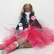 Куклы и игрушки ручной работы. Ярмарка Мастеров - ручная работа Тильда Ксюша - юбочка из.... Handmade.