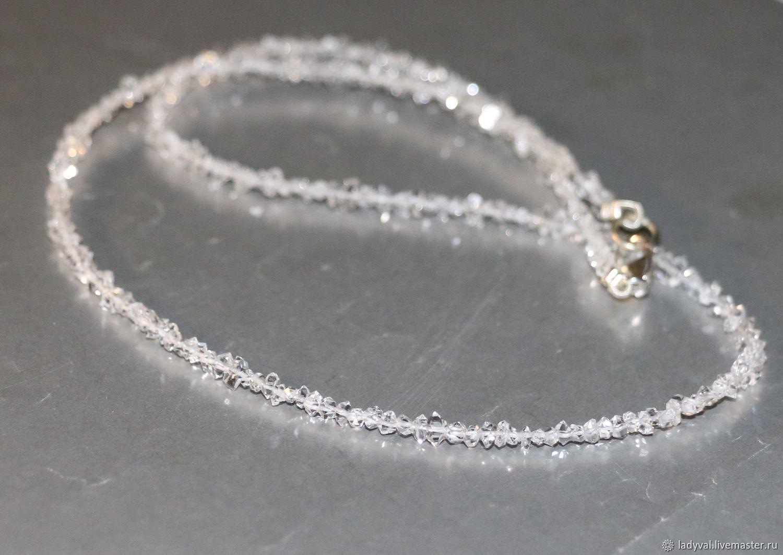 бриллиант геркмайера алмаз херкимера, Колье, Москва,  Фото №1