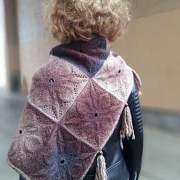 Аксессуары ручной работы. Ярмарка Мастеров - ручная работа Шаль (шарф) Паула. Handmade.