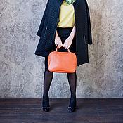 Сумки и аксессуары ручной работы. Ярмарка Мастеров - ручная работа Сумка Cube new (рыжий цвет). Handmade.