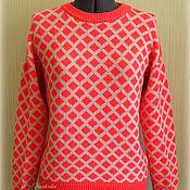 """Одежда ручной работы. Ярмарка Мастеров - ручная работа Вязаный свитер """"Неон"""". Handmade."""