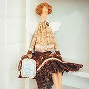 Куклы и игрушки ручной работы. Ярмарка Мастеров - ручная работа Кофейная фея. Кукла в стиле Тильда.. Handmade.