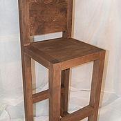 Для дома и интерьера handmade. Livemaster - original item Bar stool in solid cedar Byzantine. Handmade.