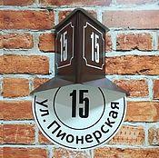 """Домовой знак в ретро стиле """"Эконом"""""""