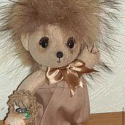Куклы и игрушки ручной работы. Ярмарка Мастеров - ручная работа Ёжик, но совсем не колючий. Handmade.