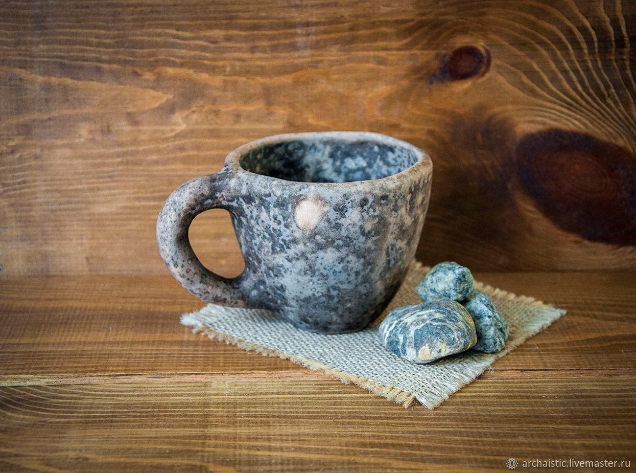 Керамическая кружка, притворяющаяся каменной, Кружки, Нижний Новгород, Фото №1