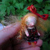 Куклы и игрушки ручной работы. Ярмарка Мастеров - ручная работа Резерв:) Снурре из рода земляничных троллей. Handmade.