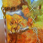 """Одежда ручной работы. Ярмарка Мастеров - ручная работа Жилет """" времена года, осень"""". Handmade."""