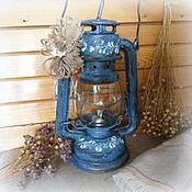 Для дома и интерьера ручной работы. Ярмарка Мастеров - ручная работа керосиновая лампа фонарь Старая лампа. Handmade.