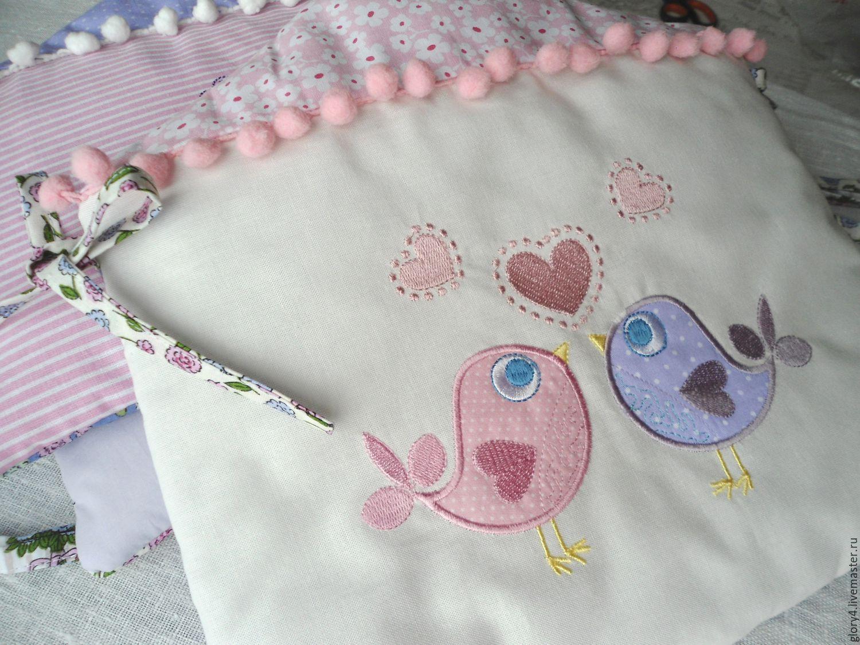 Вышивка для бортика в кроватку