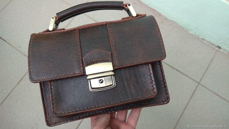 15f2aa4d2900 Мужские сумки ручной работы. Ярмарка Мастеров - ручная работа. Купить  Барсетка мужская 'Хамелеон ...