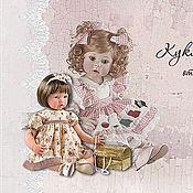 Дизайн и реклама ручной работы. Ярмарка Мастеров - ручная работа Визитка мастера кукол. Handmade.