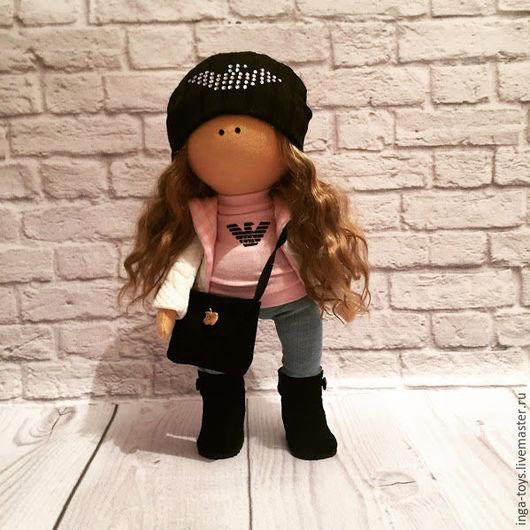 Куклы Тильды ручной работы. Ярмарка Мастеров - ручная работа. Купить Интерьерная куколка Армани. Handmade. Комбинированный, интерьерная кукла