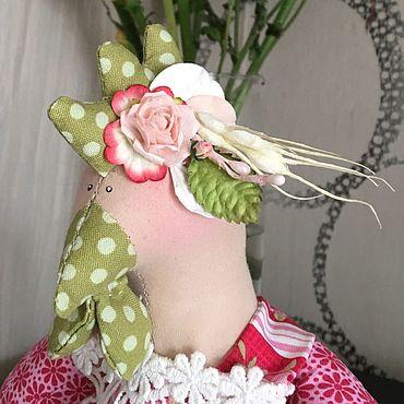 Куклы и игрушки ручной работы. Ярмарка Мастеров - ручная работа Курочка тильда. Handmade.