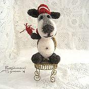 Куклы и игрушки handmade. Livemaster - original item Brooding dog of Sir Henry. Handmade.