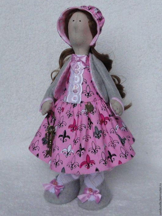 Куклы Тильды ручной работы. Ярмарка Мастеров - ручная работа. Купить Интерьерная кукла Ключница Джейн. Handmade. Розовый, хранительница