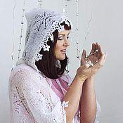 """Одежда ручной работы. Ярмарка Мастеров - ручная работа Накидка """"Зимняя сказка"""". Handmade."""