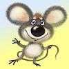 Мыша (marjam) - Ярмарка Мастеров - ручная работа, handmade