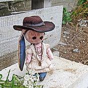 Куклы и игрушки ручной работы. Ярмарка Мастеров - ручная работа Зайка Кэрри. Handmade.