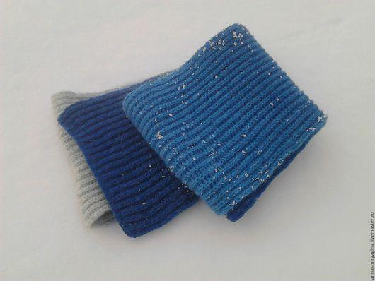 Шарфы и шарфики ручной работы. Ярмарка Мастеров - ручная работа. Купить Шарф сине-бело-голубой. Handmade. Шарф, подарок