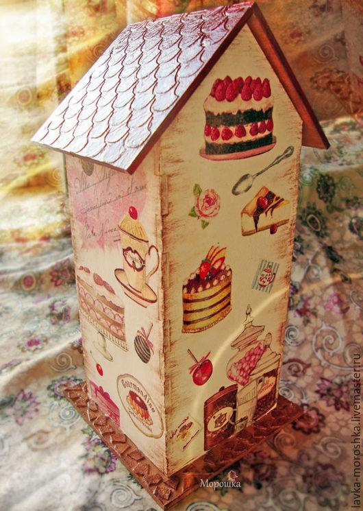 """Кухня ручной работы. Ярмарка Мастеров - ручная работа. Купить Чайный домик """"Французское кафе"""". Handmade. Комбинированный, нежный"""