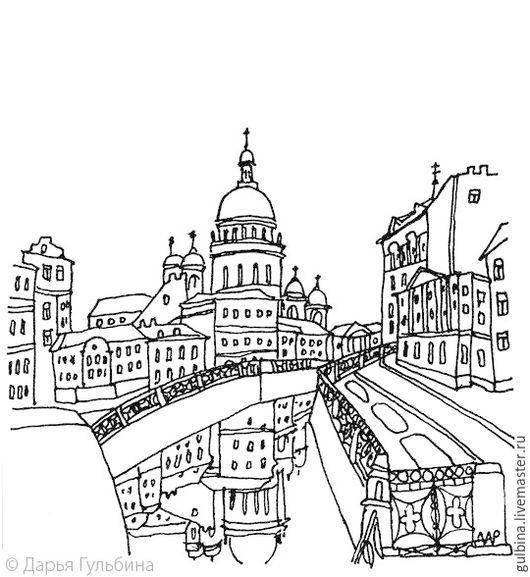 Петербург. Графика