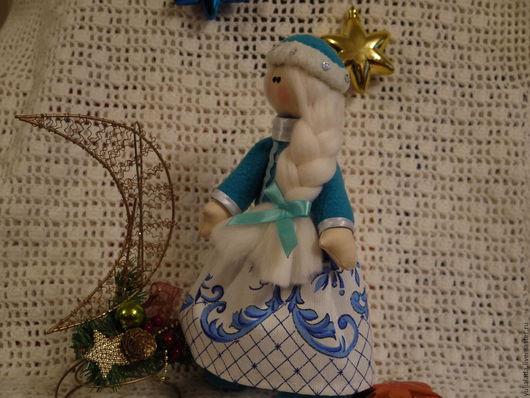 Сказочные персонажи ручной работы. Ярмарка Мастеров - ручная работа. Купить Снегурочка. Handmade. Комбинированный, куклы и игрушки, подарок женщине