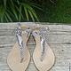 Обувь ручной работы. Ярмарка Мастеров - ручная работа. Купить Сандалии из натуральной кожи питона. Handmade. Сандалии, сандалии из кожи