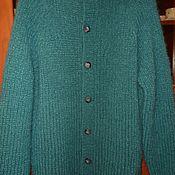 Одежда handmade. Livemaster - original item men`s jacket in the turquoise color. Handmade.