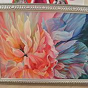 """Картины и панно ручной работы. Ярмарка Мастеров - ручная работа Картина. Масло. """"Цветок"""" (копия). Handmade."""