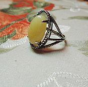 Украшения handmade. Livemaster - original item The ring-the ring with epoxy and silver plated. Handmade.