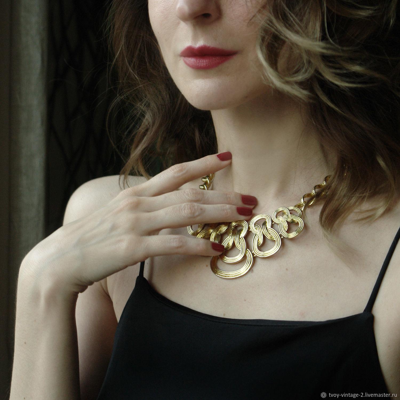 Винтаж: Колье 1928 Jewelry - Золотое сияние, Колье винтажные, Москва,  Фото №1