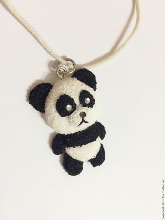 Подвеска `Панда` , для тех, кто как и пандочки любит обниматься 🐼❤️