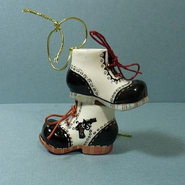 Подарки к праздникам handmade. Livemaster - original item Hanging Christmas ornaments