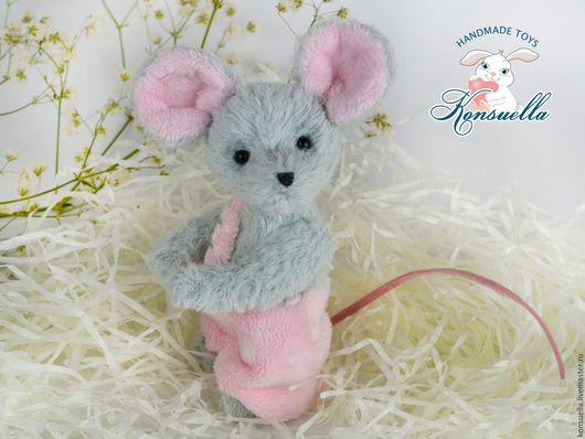 Мишки Тедди ручной работы. Ярмарка Мастеров - ручная работа. Купить Мышонок Тедди. Handmade. Серый, игрушка в подарок