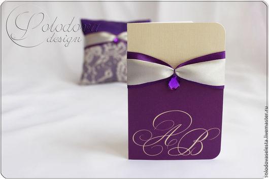"""Свадебное приглашение """"Феерия"""", приглашения на свадьбу,приглашения свадебные,свадебные аксессуары ручной работы."""