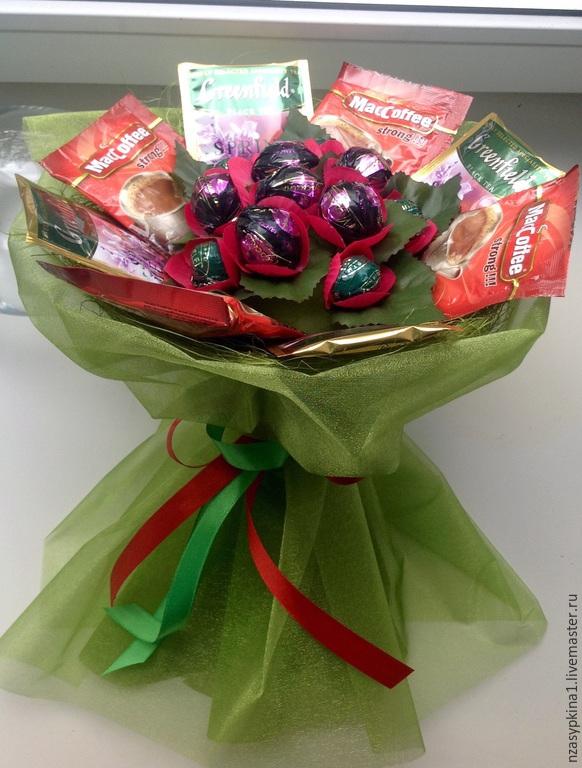 Подарок учителю с конфет