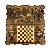 Активный отдых и развлечения handmade. Livemaster - original item Hand-carved backgammon