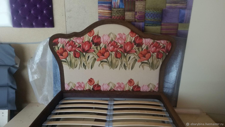 Кровать в тюльпанах, Кровати, Нахабино,  Фото №1