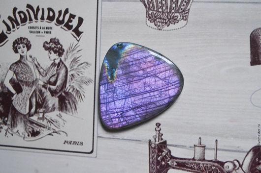 Для украшений ручной работы. Ярмарка Мастеров - ручная работа. Купить Лабрадорит спектролит. Кабошон 43 Х 39 Х 5. Handmade.