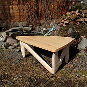Для дома и интерьера handmade. Livemaster - original item Triangular solid cedar iron. Handmade.