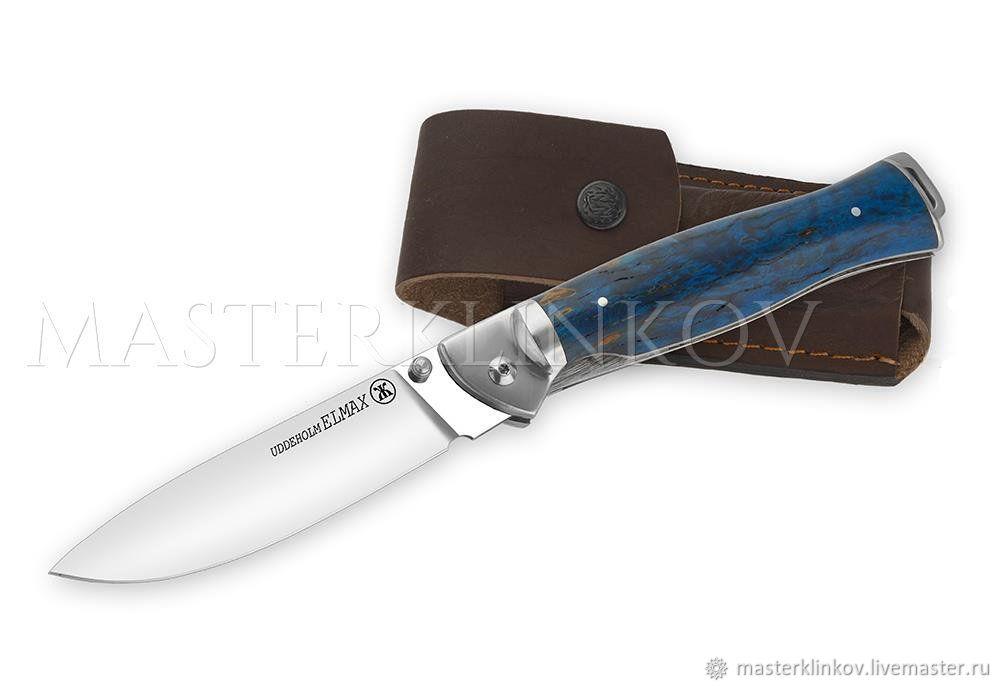 Складные ножи ручной работы кованые 3