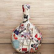 """Для дома и интерьера ручной работы. Ярмарка Мастеров - ручная работа Ваза """"Глэм"""". Handmade."""