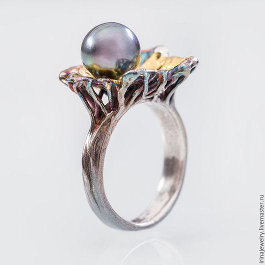 Кольца ручной работы. Ярмарка Мастеров - ручная работа. Купить Коллекционное кольцо DARK MOON. Handmade. Кольцо, серебряное кольцо
